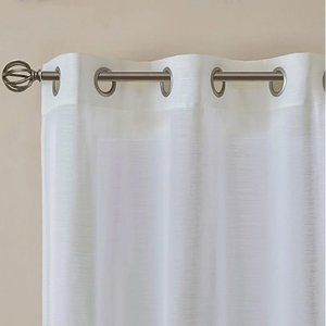 "Accents - SALT™ Lora 2-Pack 84""Grommet Sheer Window Curtain"